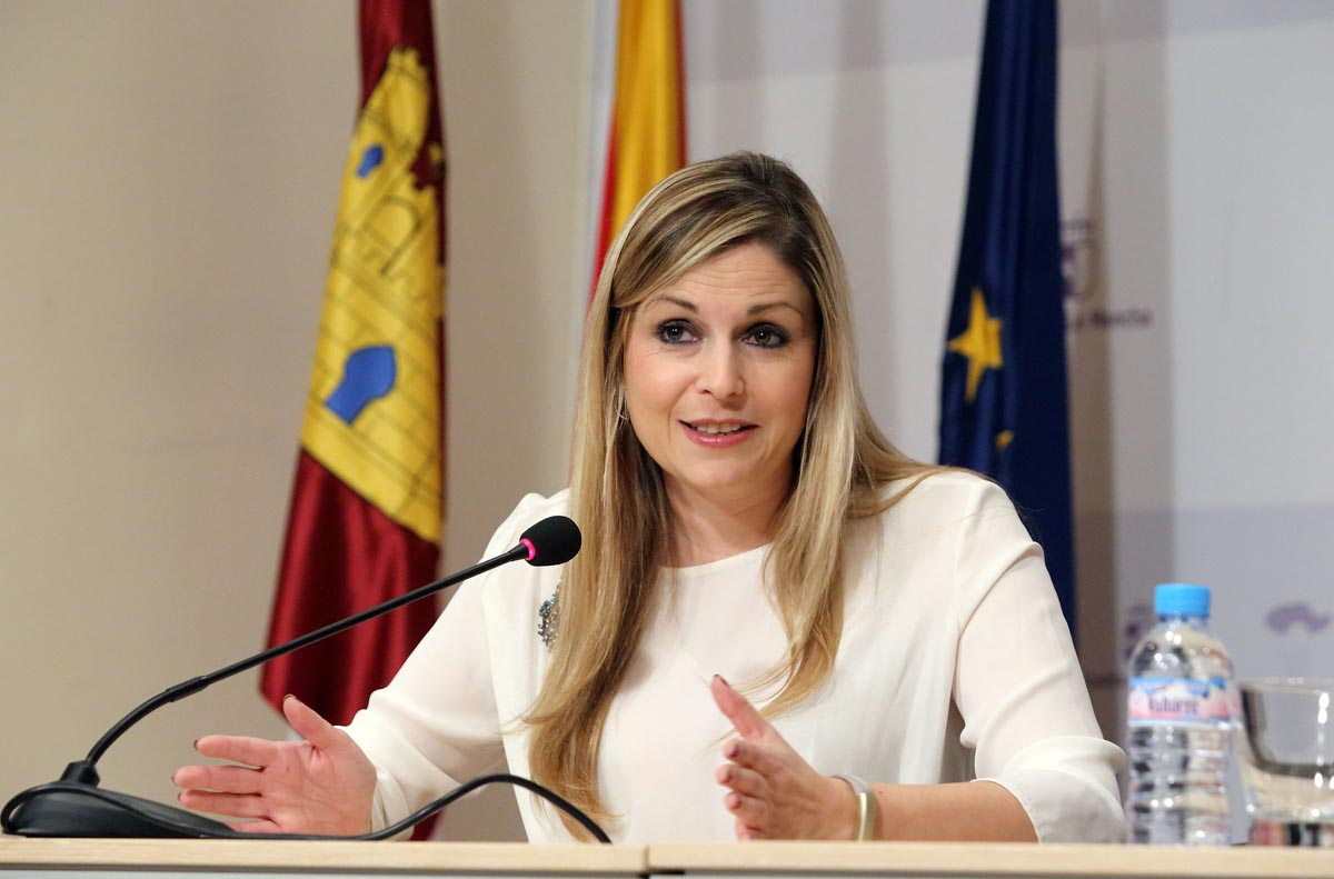 La consejera de Fomento, Elena de la Cruz.