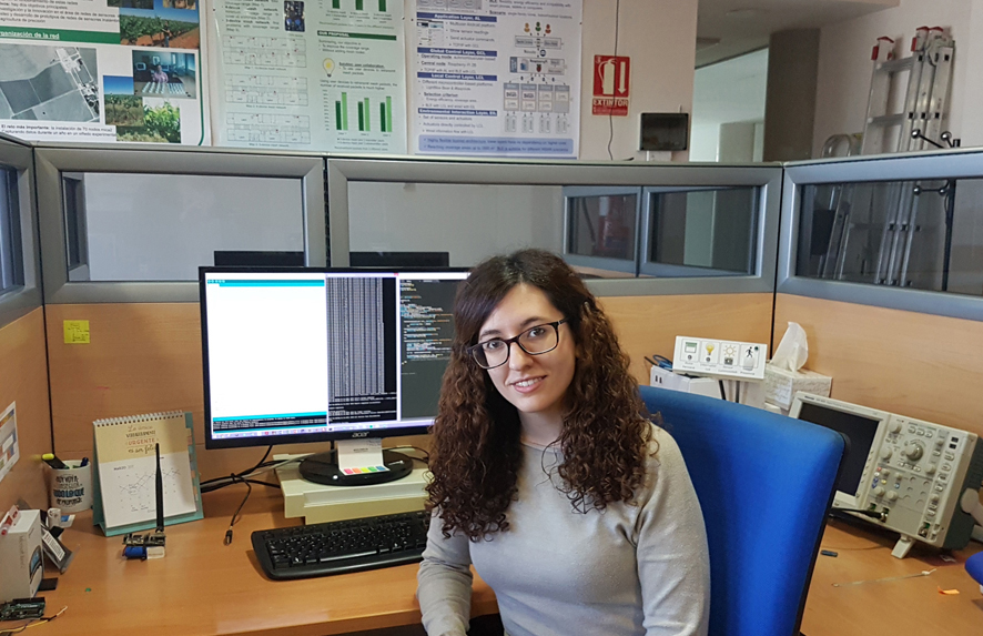 Celia Garrido, alumna de la UCLM.