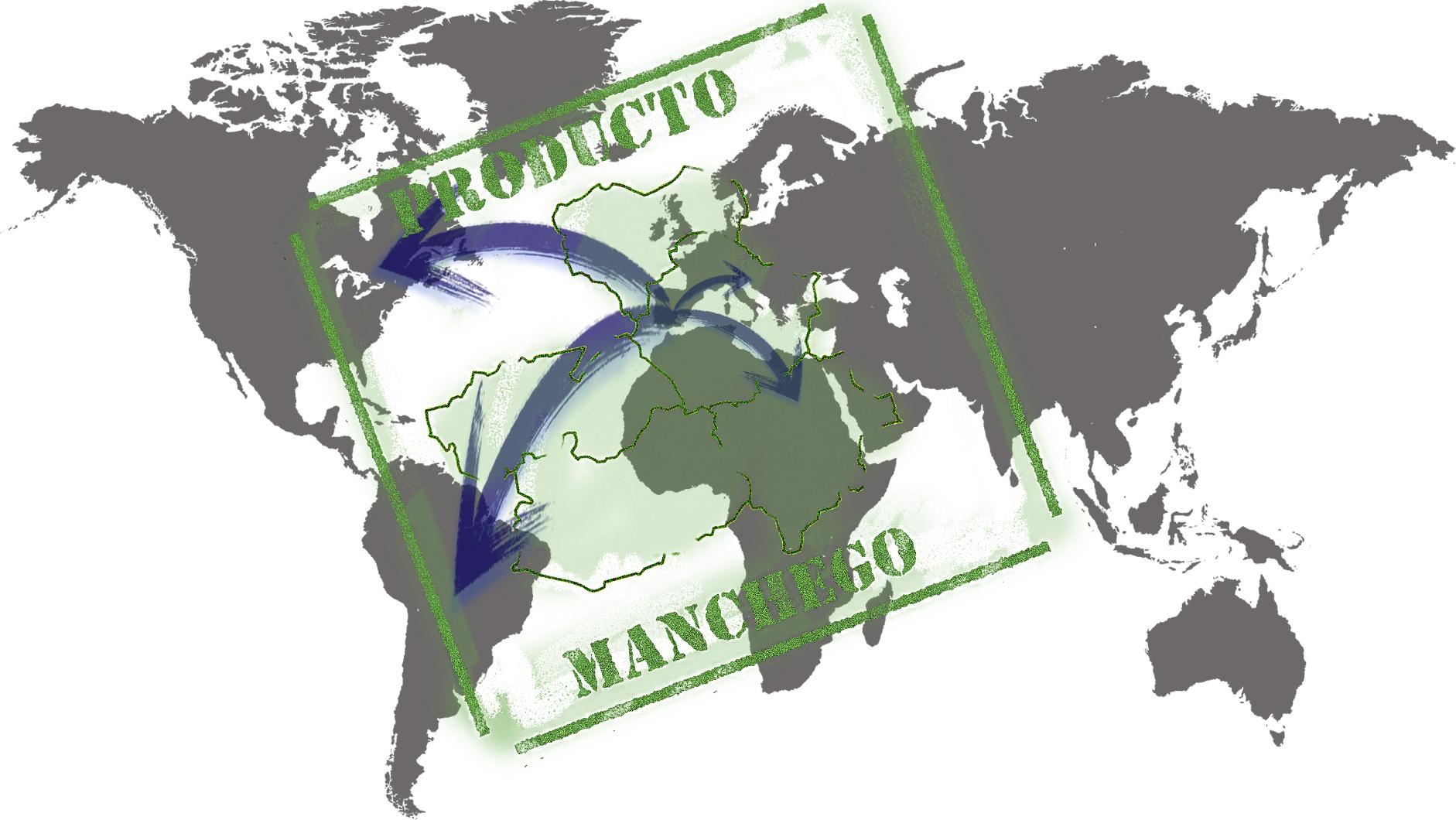 aranceles empresas Ilustración de Santi Morilla sobre las exportaciones de Castilla-La Mancha exportaciones