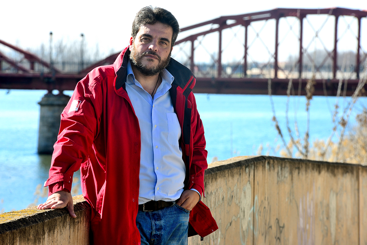 Miguel ángel Sánchez, portavoz de Ganemos Talavera, habla sobre la dramática situación de la cabecera del Tajo. Río Tajo: Vivo