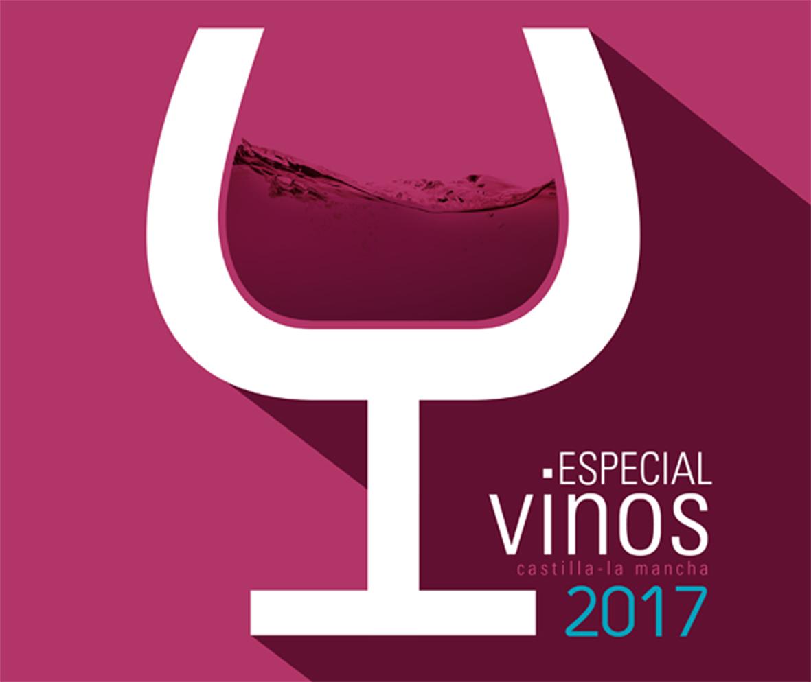 Portada del Especial Vino Castilla-La Mancha 2017