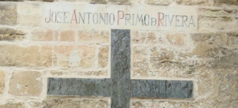 Símbolos franquista de la Catedral de Cuenca.