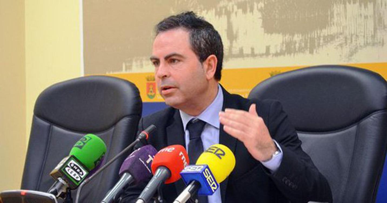 José Gutiérrez, portavoz del PSOE en el Ayuntamiento de Talavera