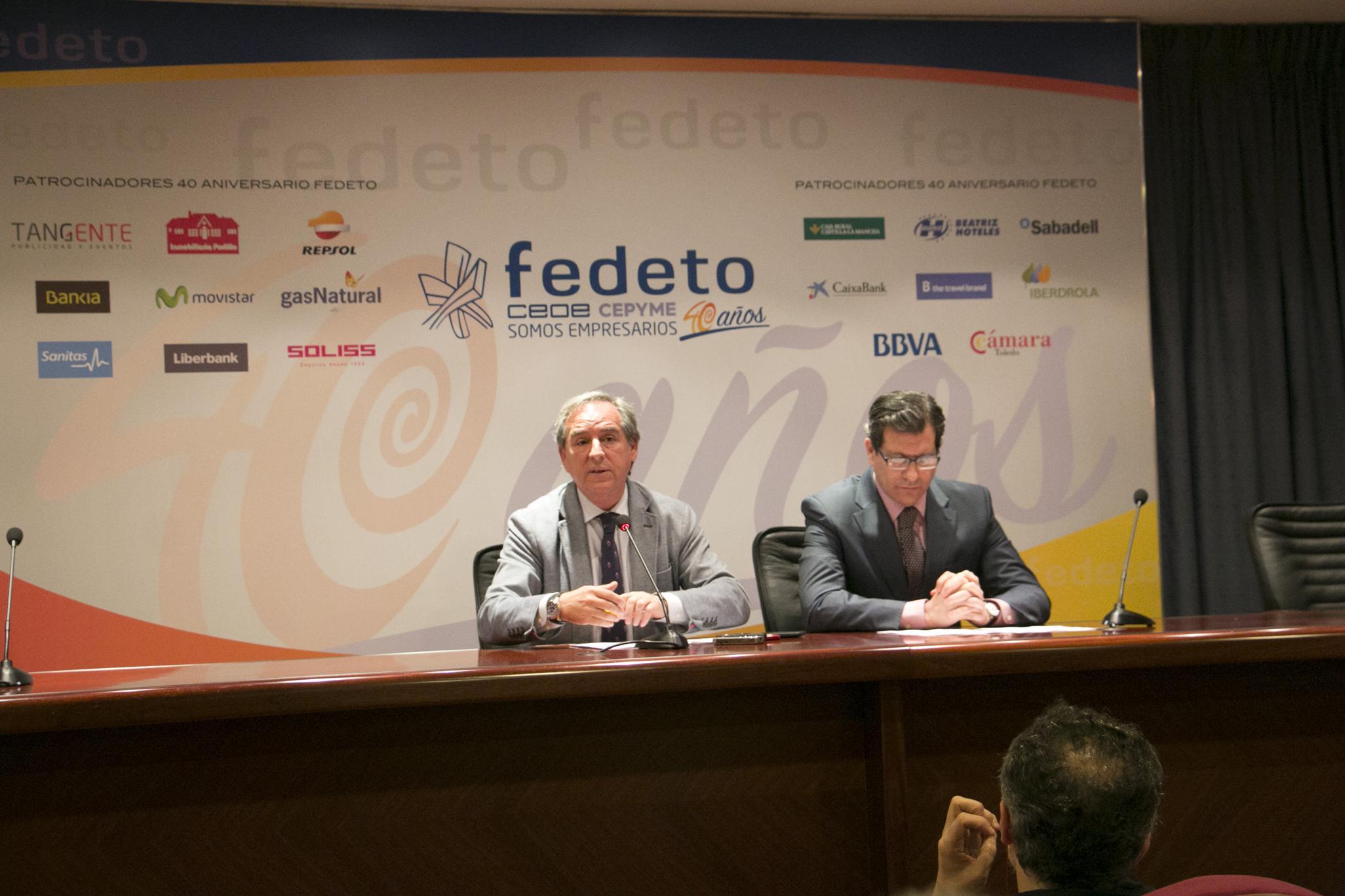 Presentación de los actos del 40 aniversario de Fedeto