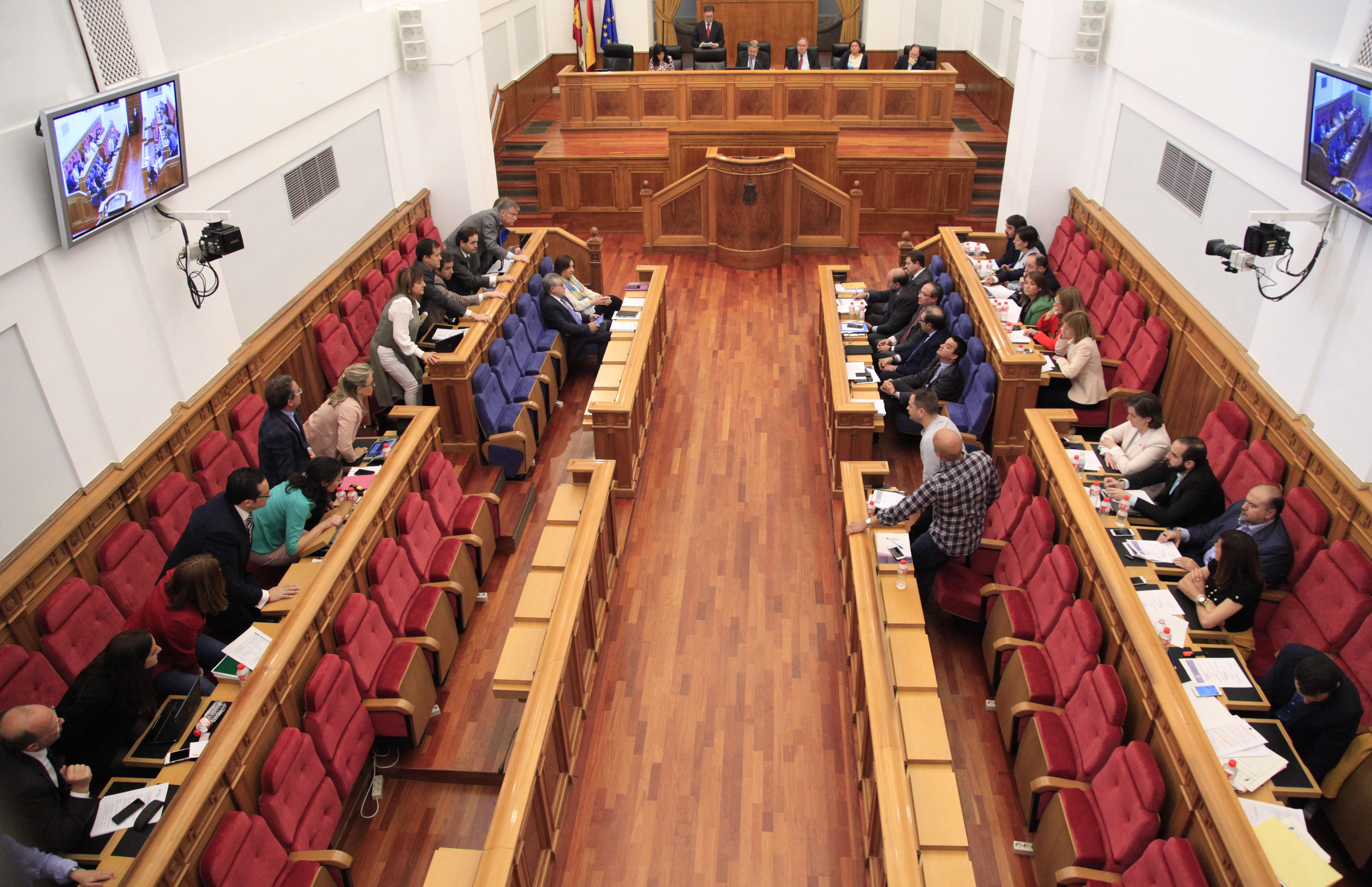 Votación de los Presupuestos Generales de CLM para 2017.