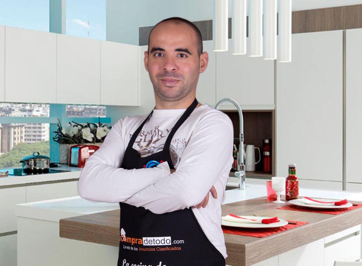 El cocinero David Gibello.
