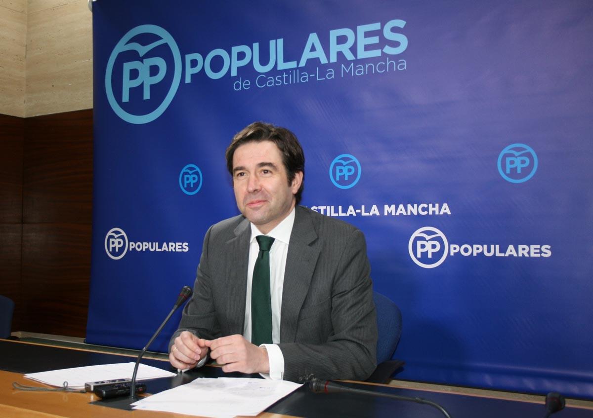 El portavoz adjunto del PP en las Cortes Regionales, Lorenzo Robisco