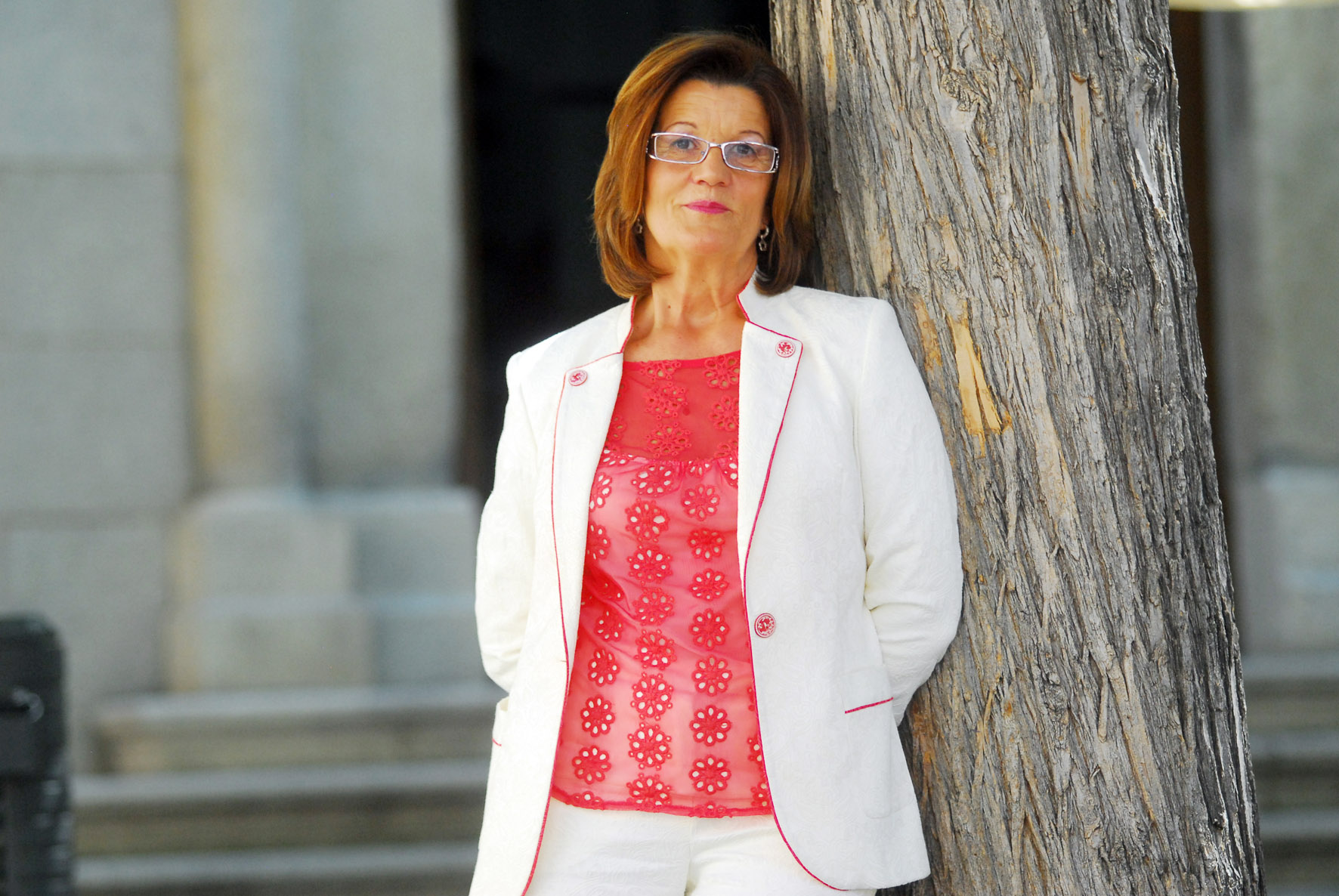 María de los Ángeles Martínez, presidenta de la Cámara de Comercio de Toledo.