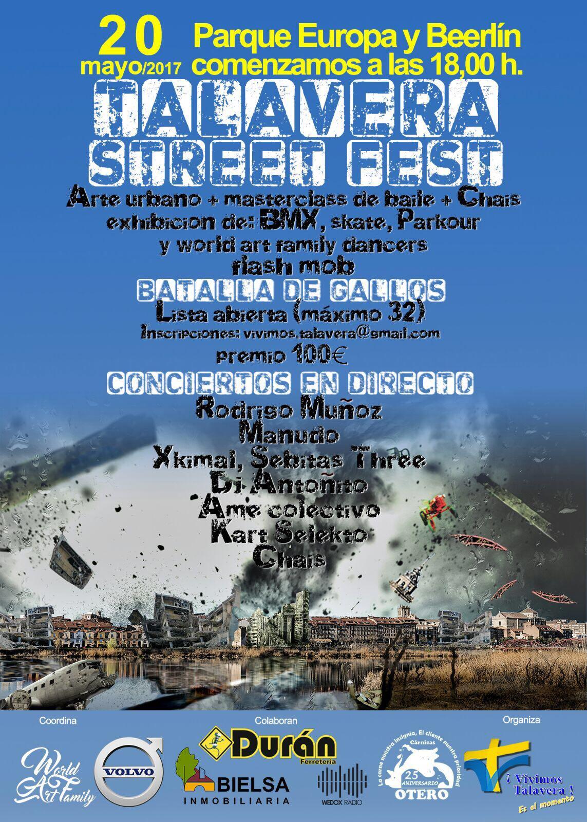 Vivimos Talavera, Talavera Street Fest
