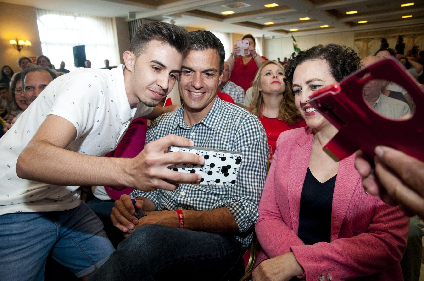 Pedro Sánchez ganó las primarias en el PSOE de Toledo