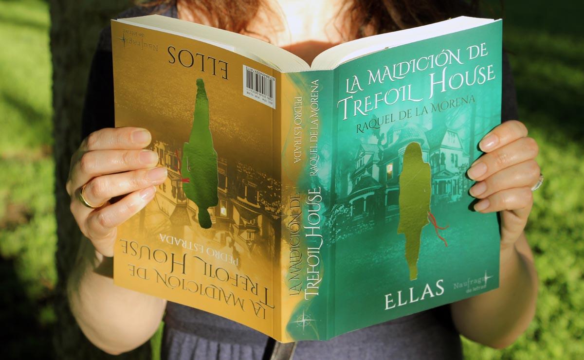 """Portada de """"La maldición de Trefoil House""""."""
