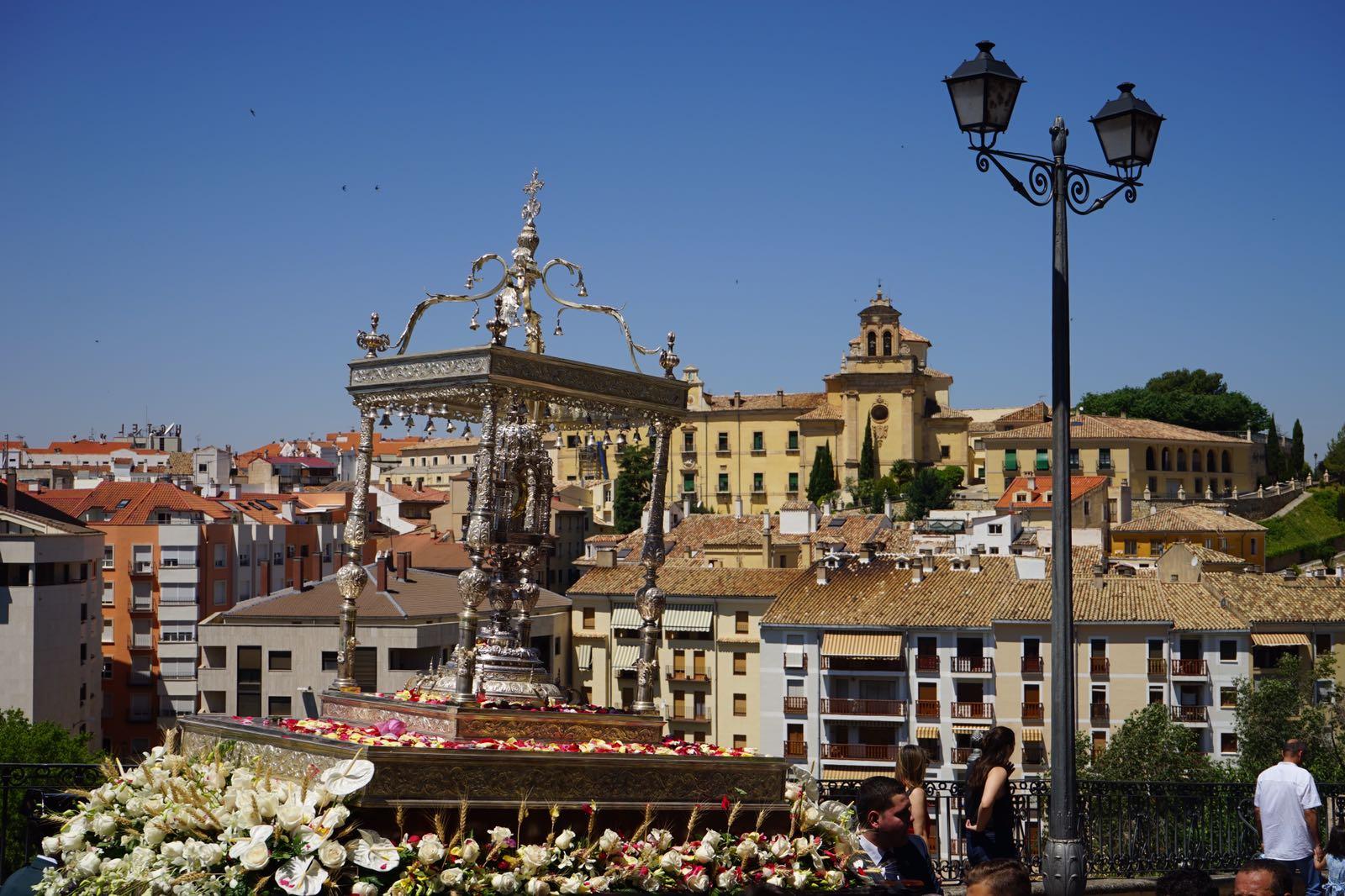 Procesión del Corpus Christi en Cuenca.