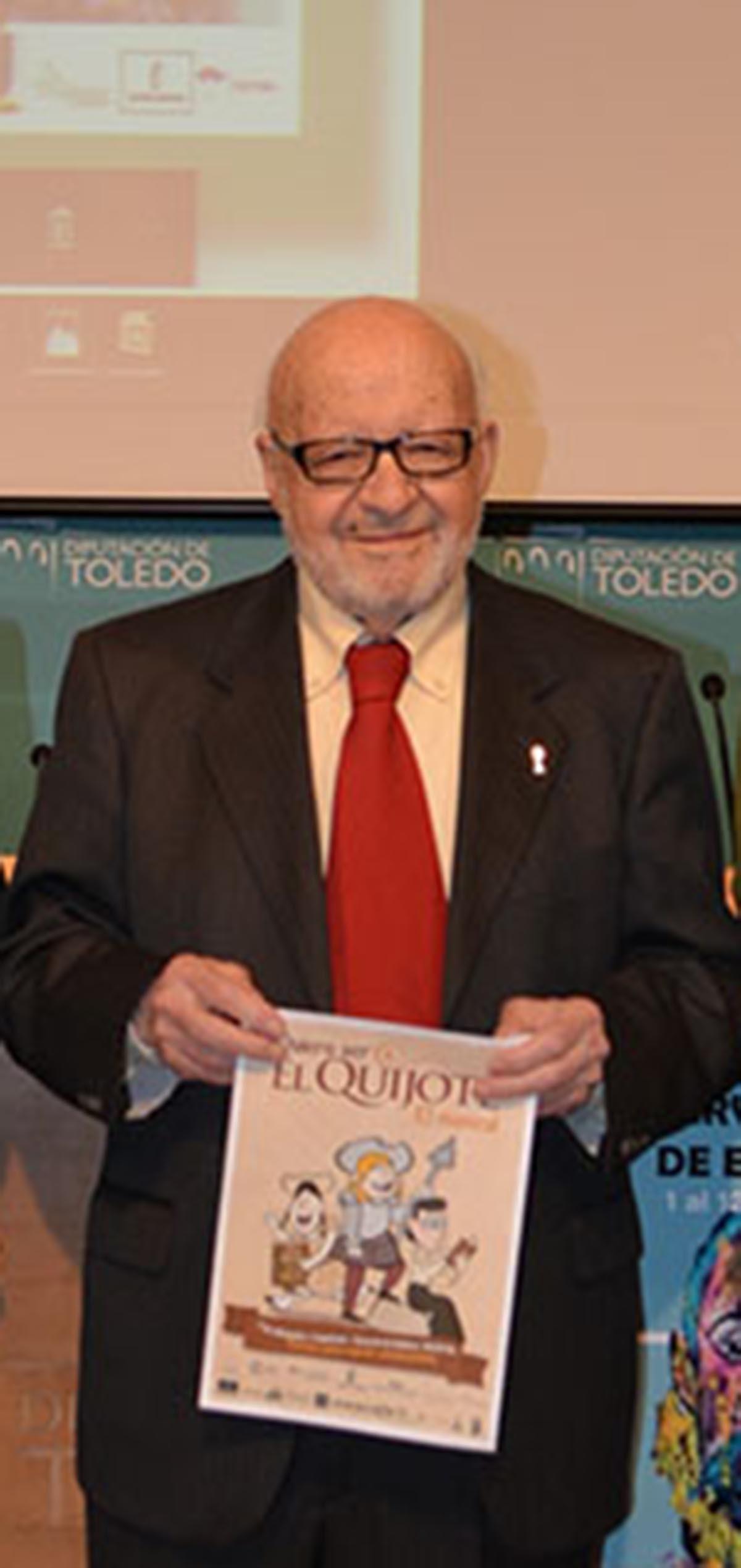 José Rosell, gran cervantista