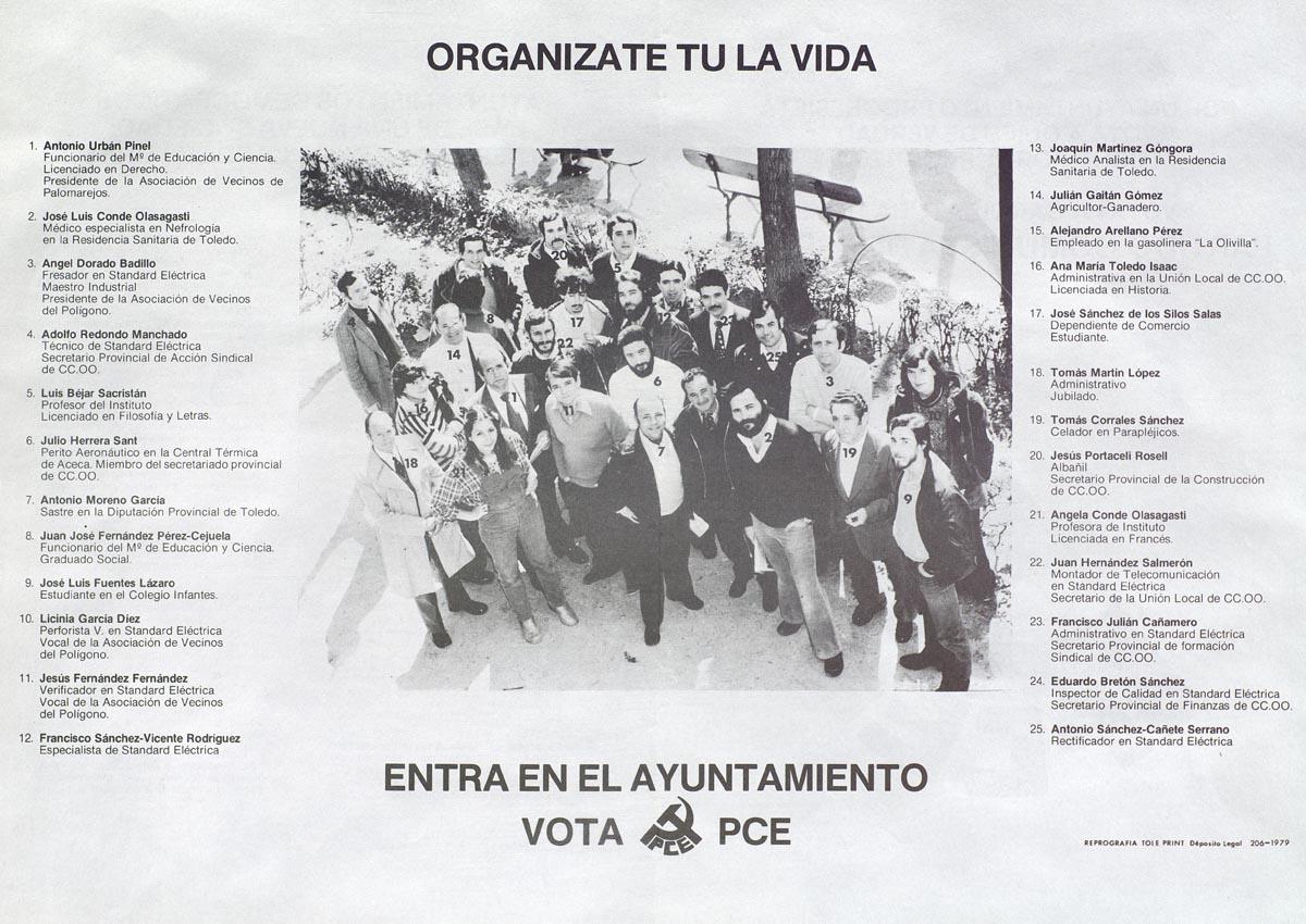 Cartel digitalizado por la Biblioteca de Castilla-La Mancha.