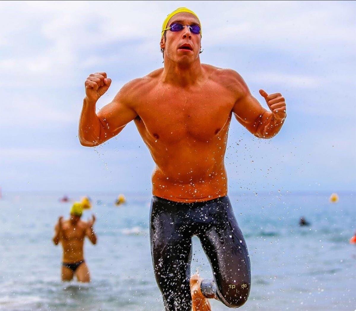 Jaime Marqués se proclamó doble campeón mundial máster de natación