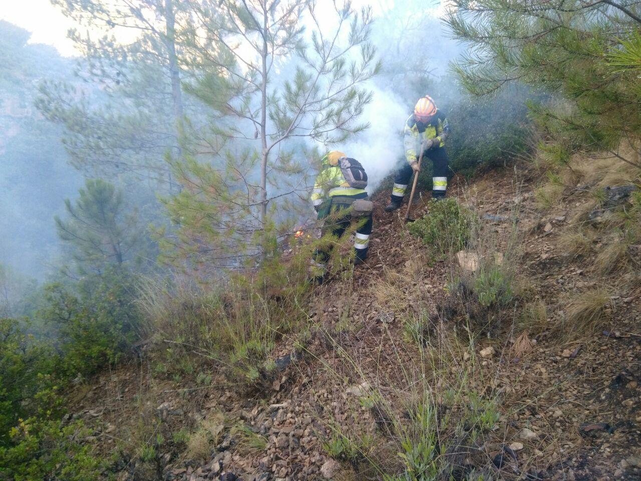 El PP ha criticado duramente la información que hizo CMMedia del incendio de Yeste