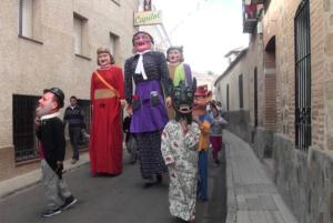 Gigantes y Cabezudos, Fiestas en Los Navalmorales, pueblo de La Jara