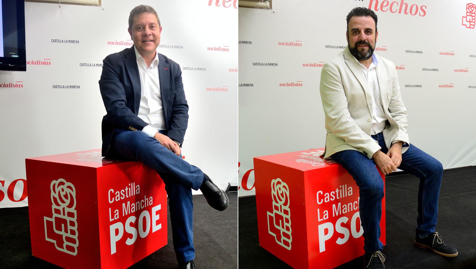 Cara a cara en las Primarias del PSOE de CLM