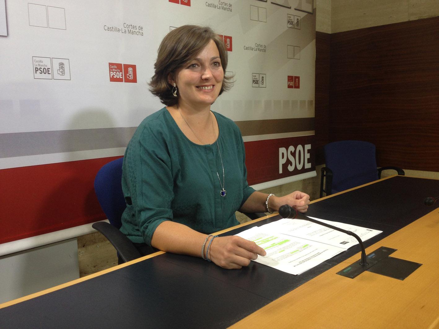 La diputada regional del PSOE, Charo García Saco.