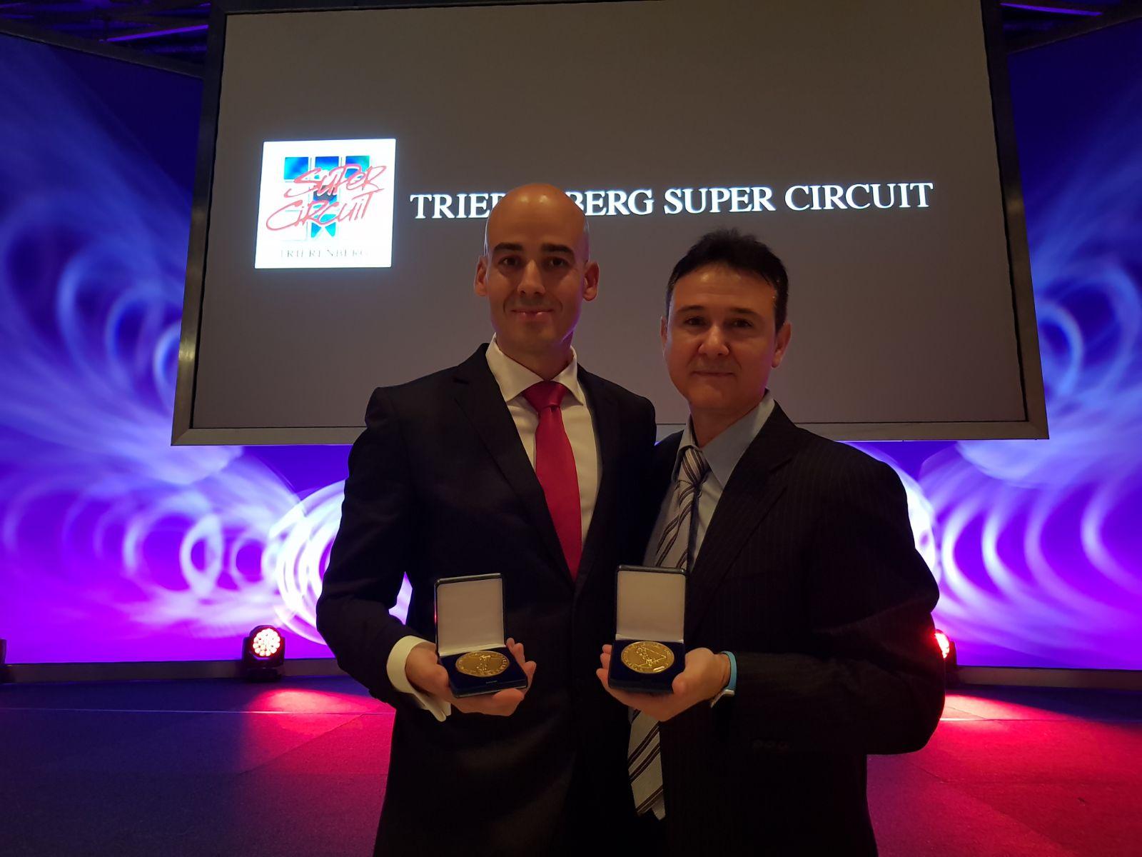 Iván Ferrero y Jesús María García, premiados en los Trierenberg Super Circuit
