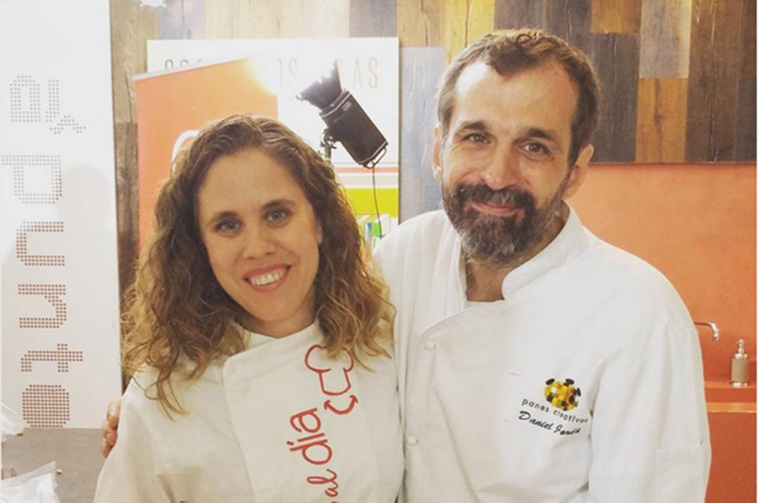 Rebeca de Torres en un concurso de cocina