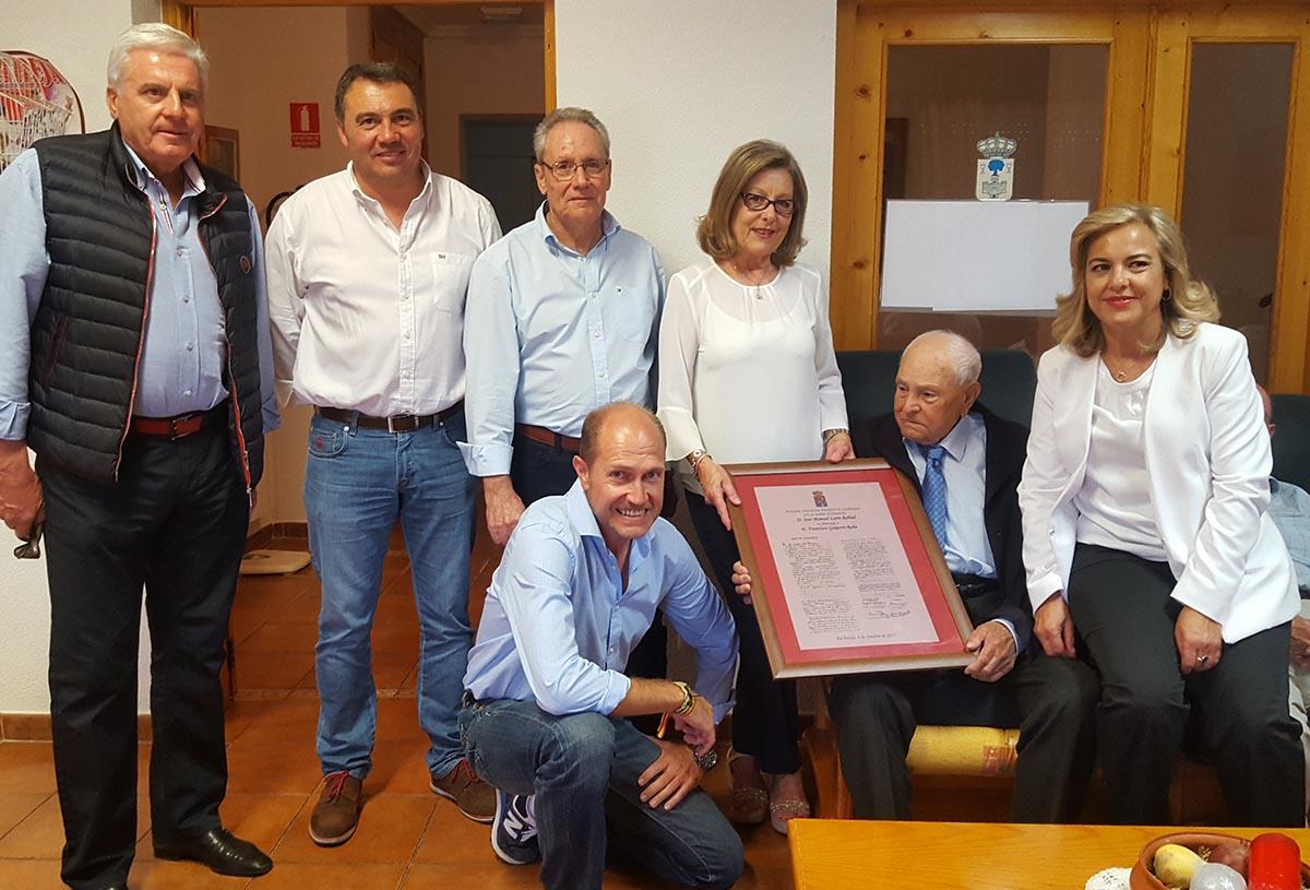 Francisco Guijarro, el centenario de Pareja que ha llegado a los 105 años