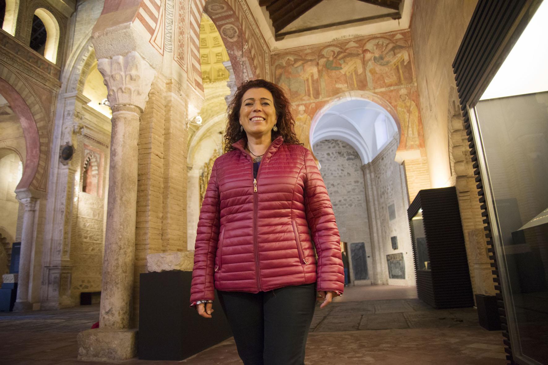 Almudena Cencerrado, presidenta de la Asociación Nacional de Guías Profesionales de Turismo