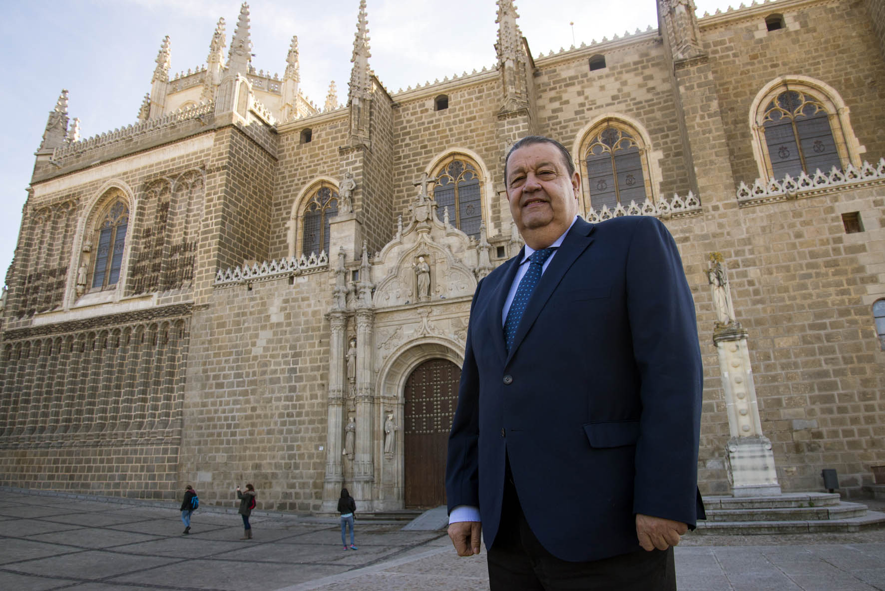 Jesús Fernández Vaquero en San Juan de los Reyes.