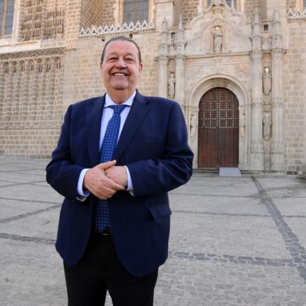 Jesús Fernández Vaquero, presidente de las Cortes de Castilla-La Mancha