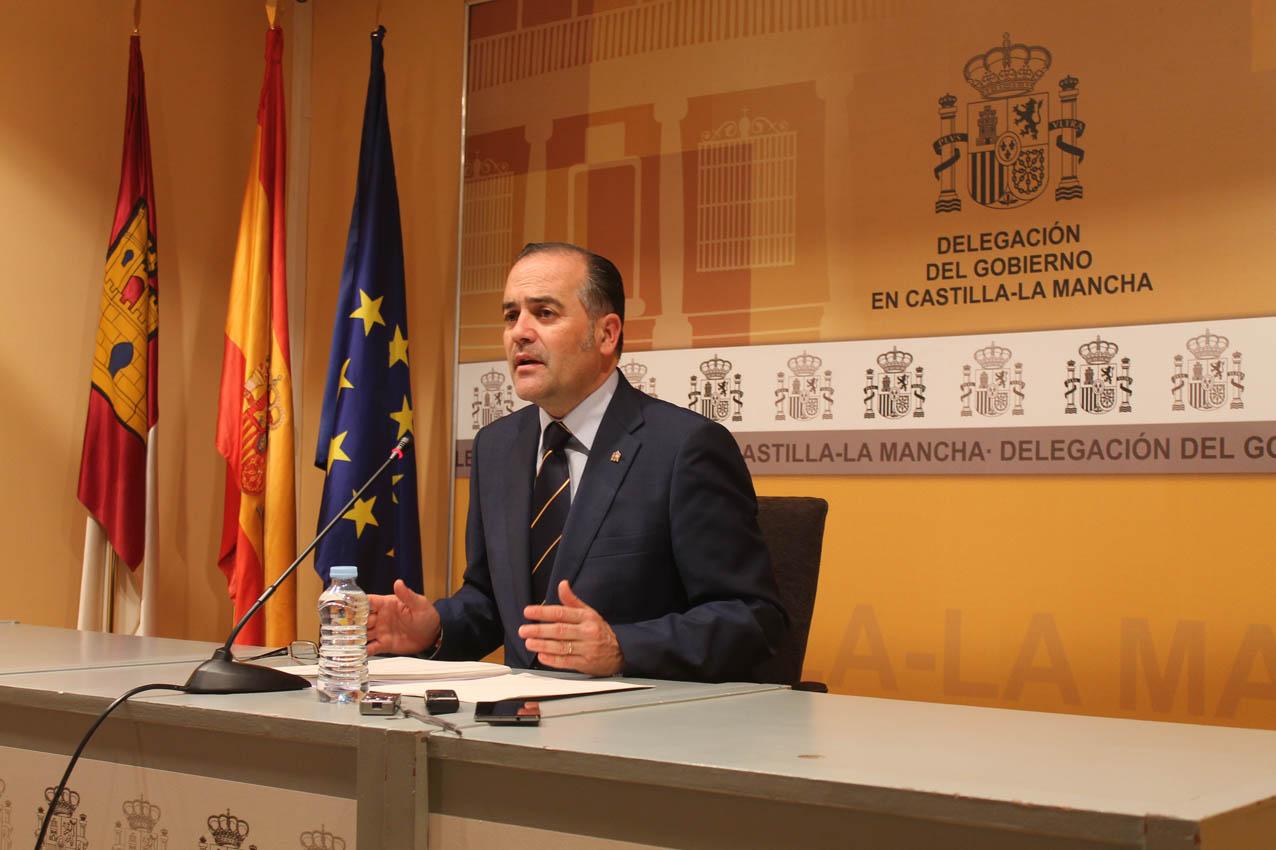 El delegado del Gobierno en Castilla-La Mancha, José Julián Gregorio. ATC