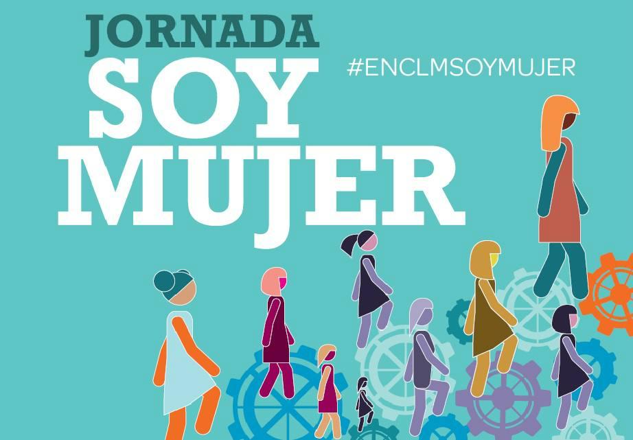 """Cartel de la jornada """"Soy mujer""""."""