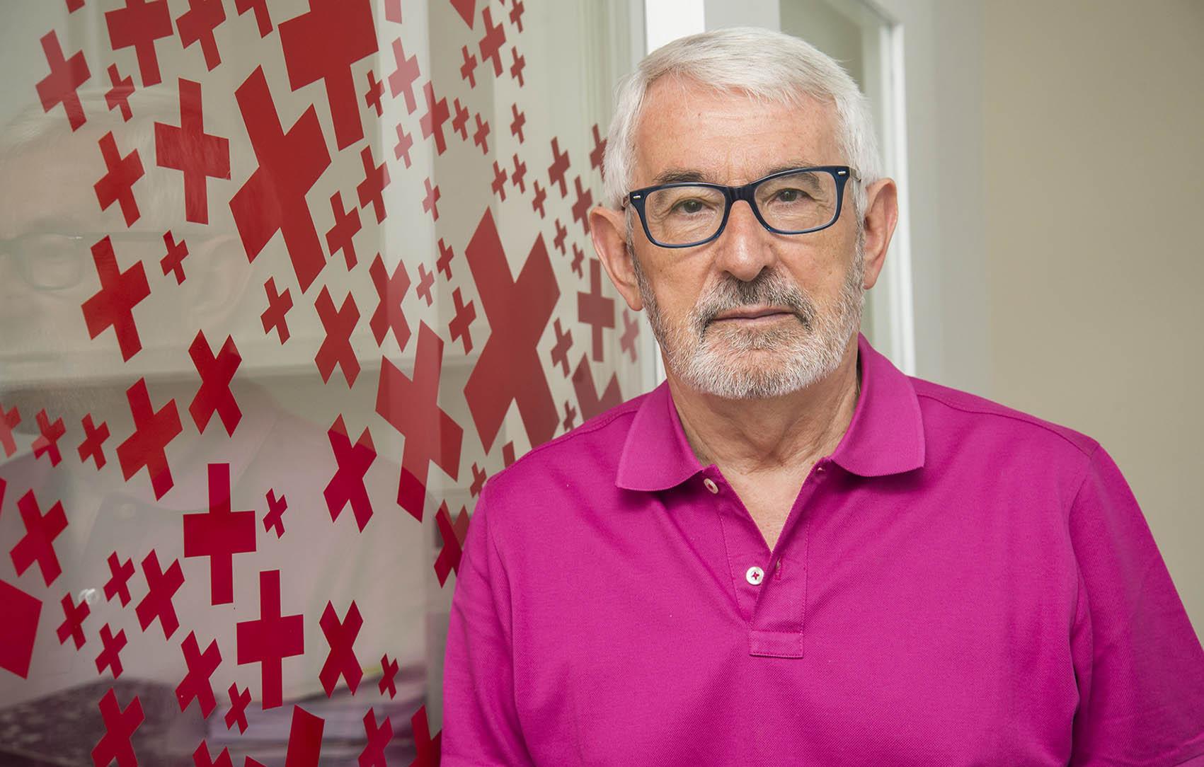 El presidente de Cruz Roja Castilla-La Mancha, Jesús Esteban. inmigración