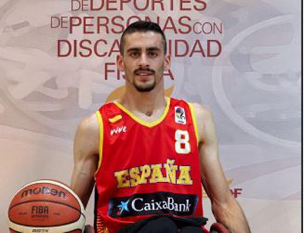 Fran Lara, nuevamente en la Selección de baloncesto en silla de ruedas
