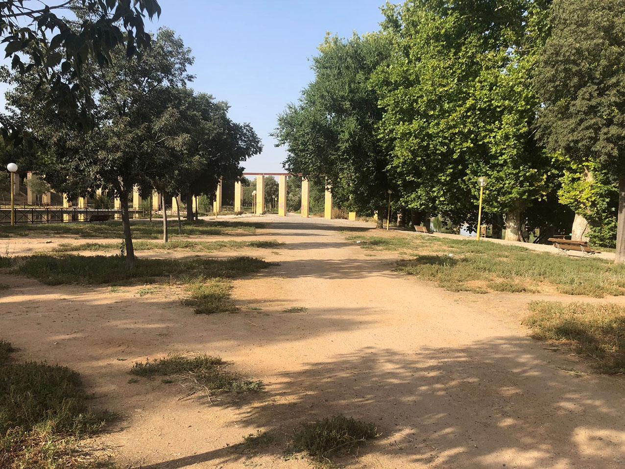 Los planes municipales en torno al parque de Safont