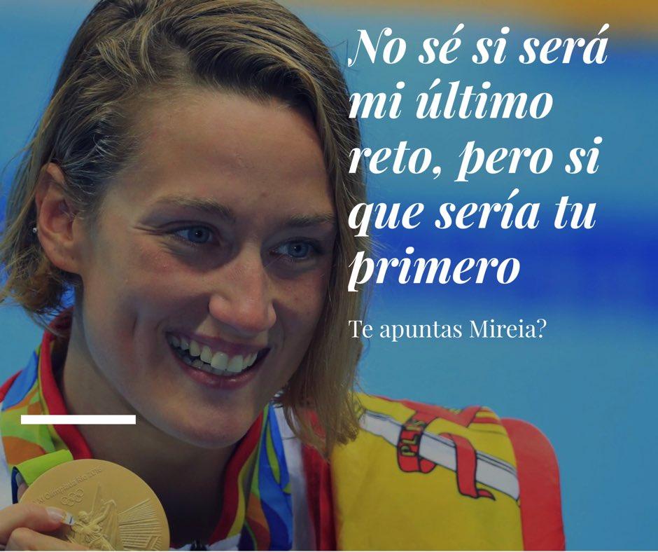 Juan Ramón Amores dobla el reto con Mireia