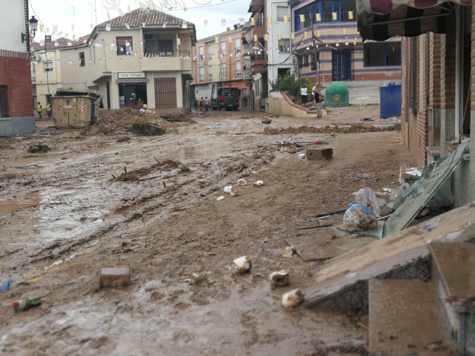 Los daños en Cebolla han sido graves y cuantiosos