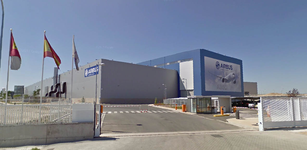 Planta de Airbus en Illescas (Toledo).