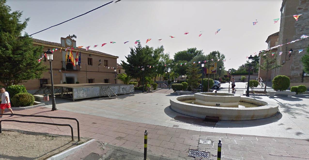 Plaza de la Concordia en Cobisa.