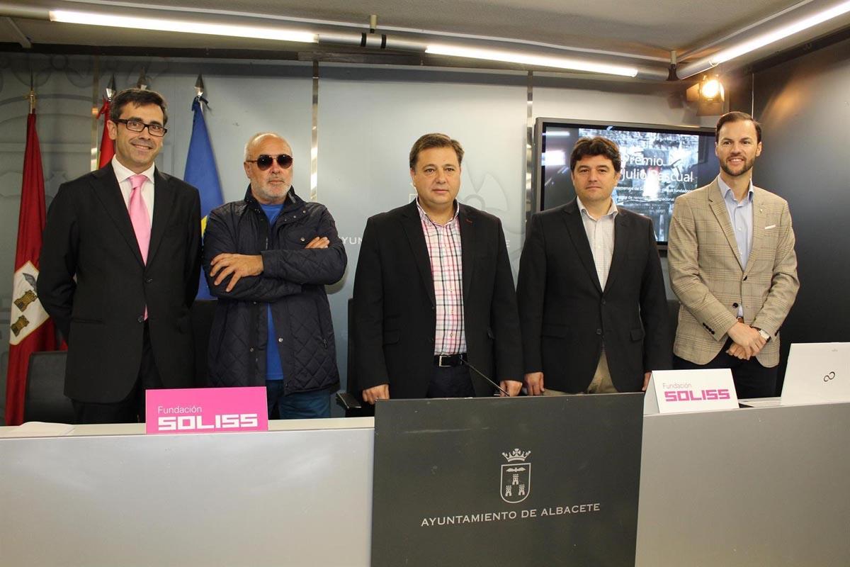 """Presentación del III Premio Bienal de Escultura """"Julio Pascual"""" de Soliss."""