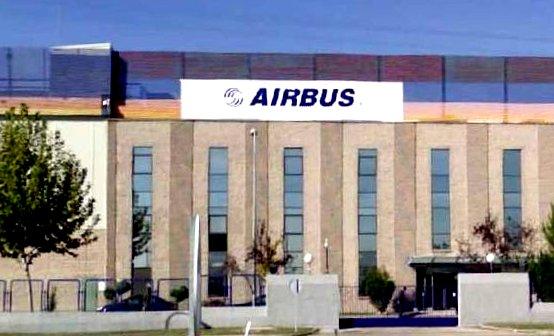Imagen de la fábrica de Airbus en Illescas.