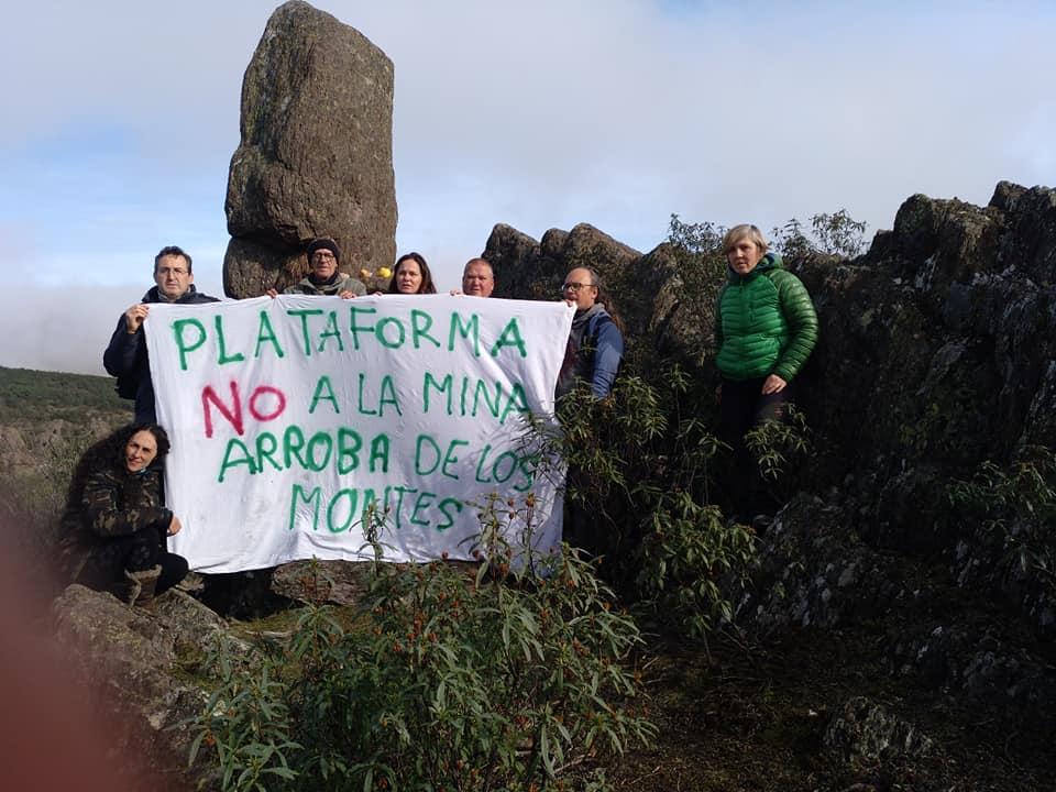 Plataforma No a la Mina de Arroba de los Montes