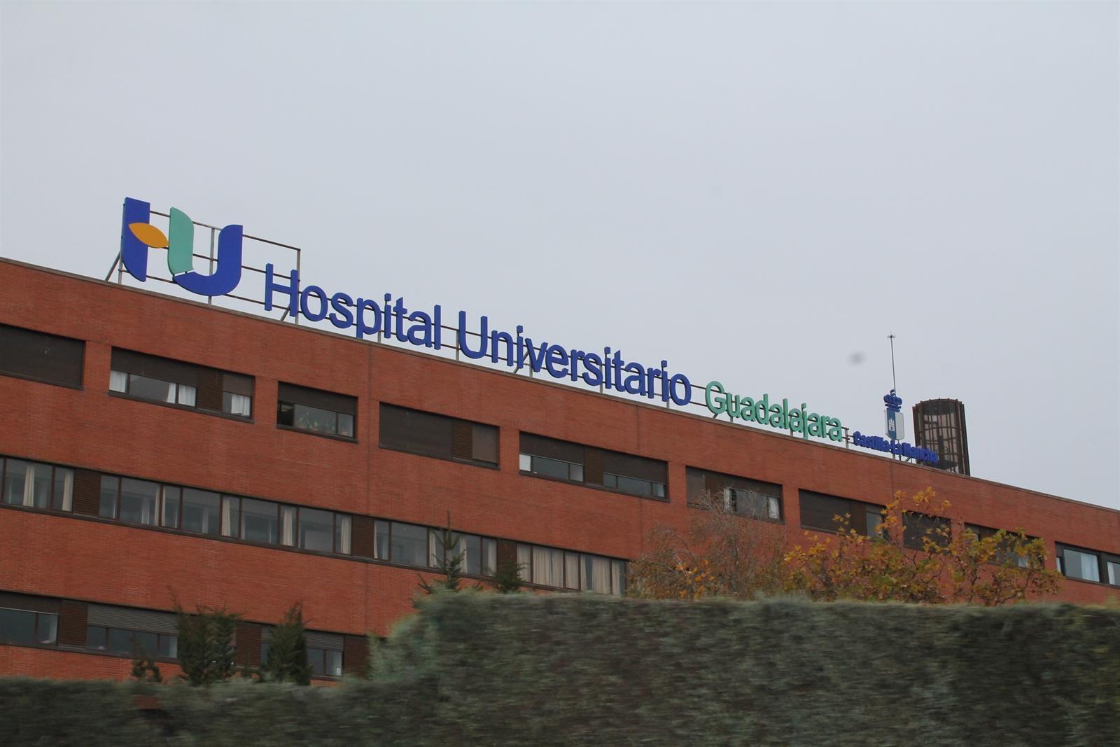 Medida de prevención ante el coronavirus en el Hospital Universitario de Guadalajara