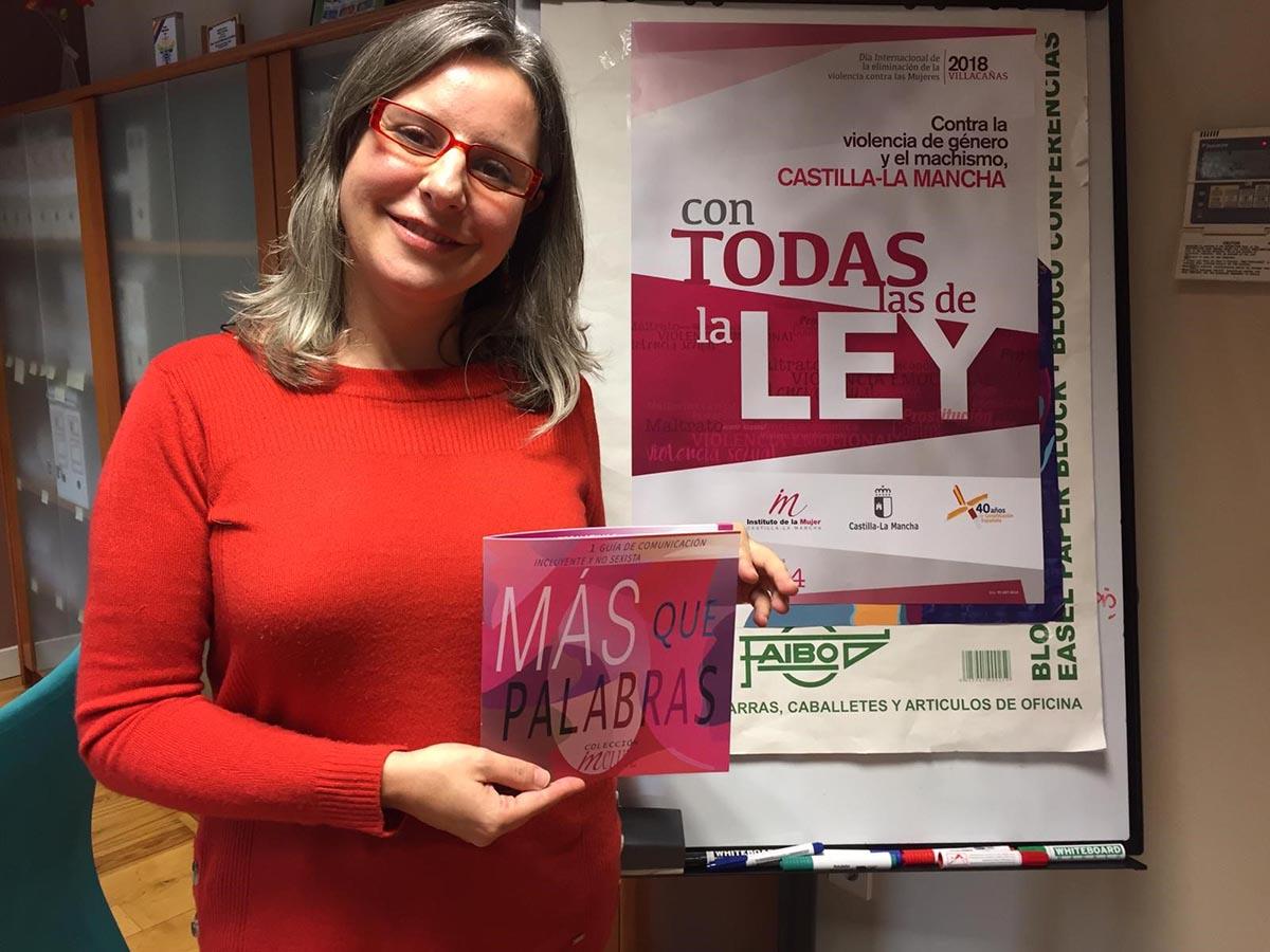 """Presentada la guía """"Más que palabras"""", del Instituto de la Mujer de Castilla-La Mancha"""