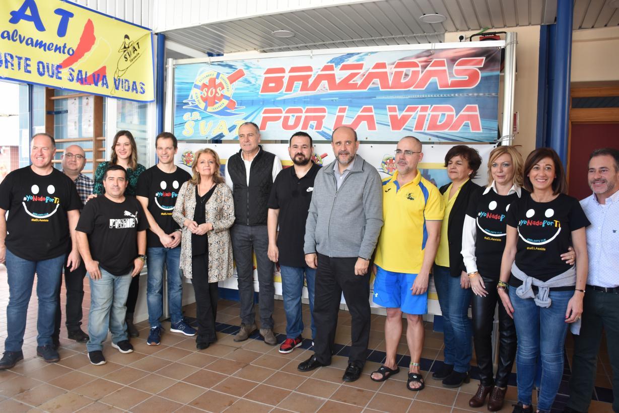 """Martínez Guijarro ha asistido a """"Brazadas por la vida"""""""