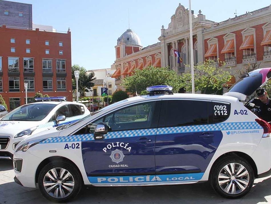 Imagen de un vehículo de la Policía Local de Ciudad Real.