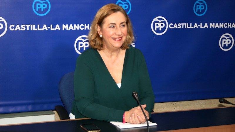La diputada del PP por la provincia de Guadalajara, Silvia Valmaña.