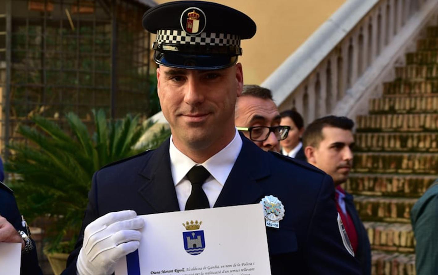 Jorge Martínez afirma que cuando se pone el uniforme de la Policía solo piensa en el cumplimiento del deber y en el servicio al ciudadano
