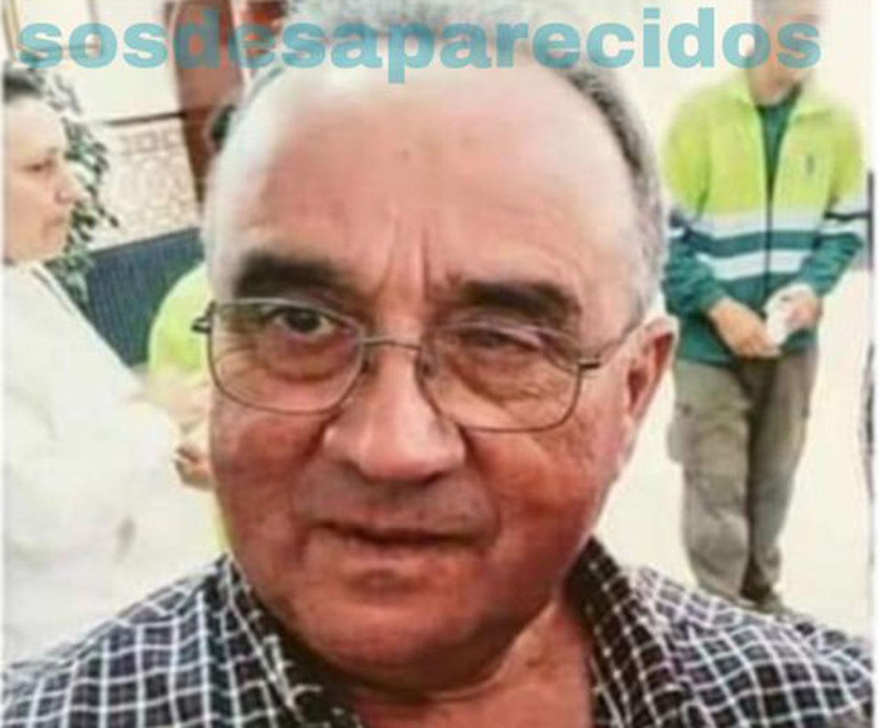 Roberto García Solana está desaparecido desde el pasado lunes 18 de febrero.