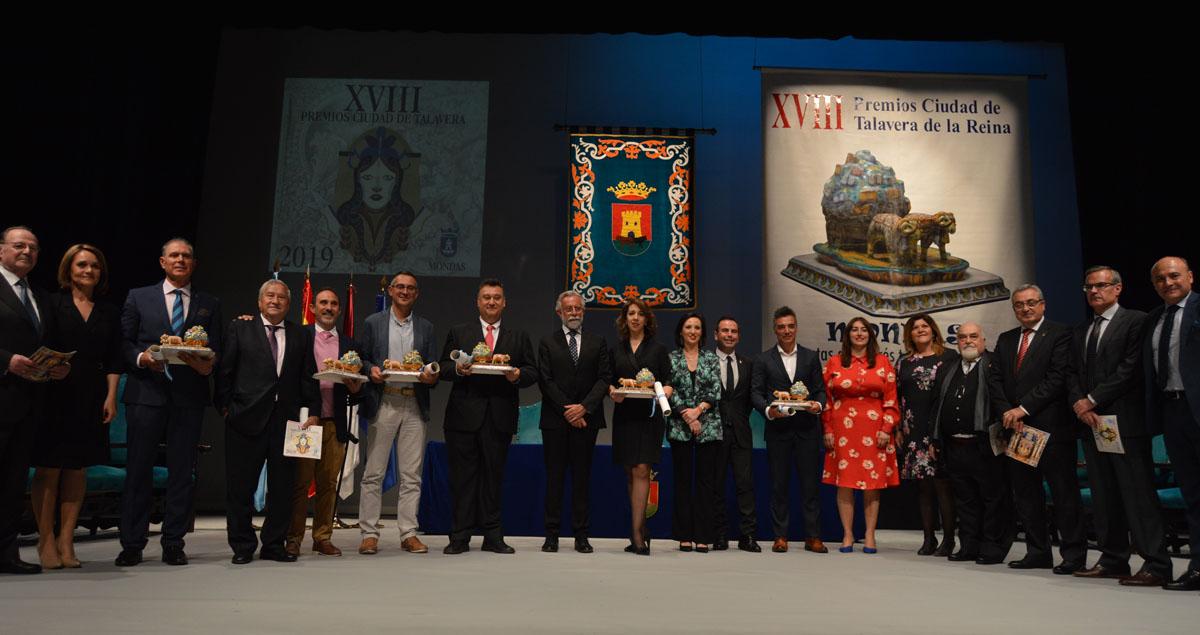 """Gala de entrega de los XVIII Premios """"Ciudad de Talavera""""."""