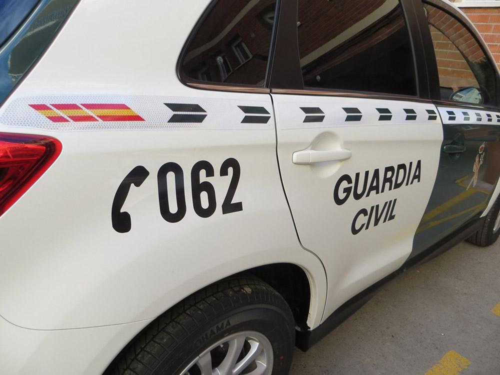 Fue una operación de la Guardia Civil (imagen de archivo) vehículos de la guardia civil, coche de la guardia civil